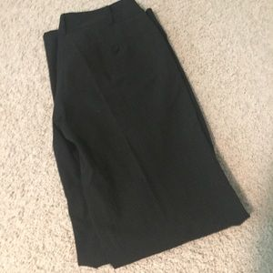 Michael Kors Black pinstripe dress pants